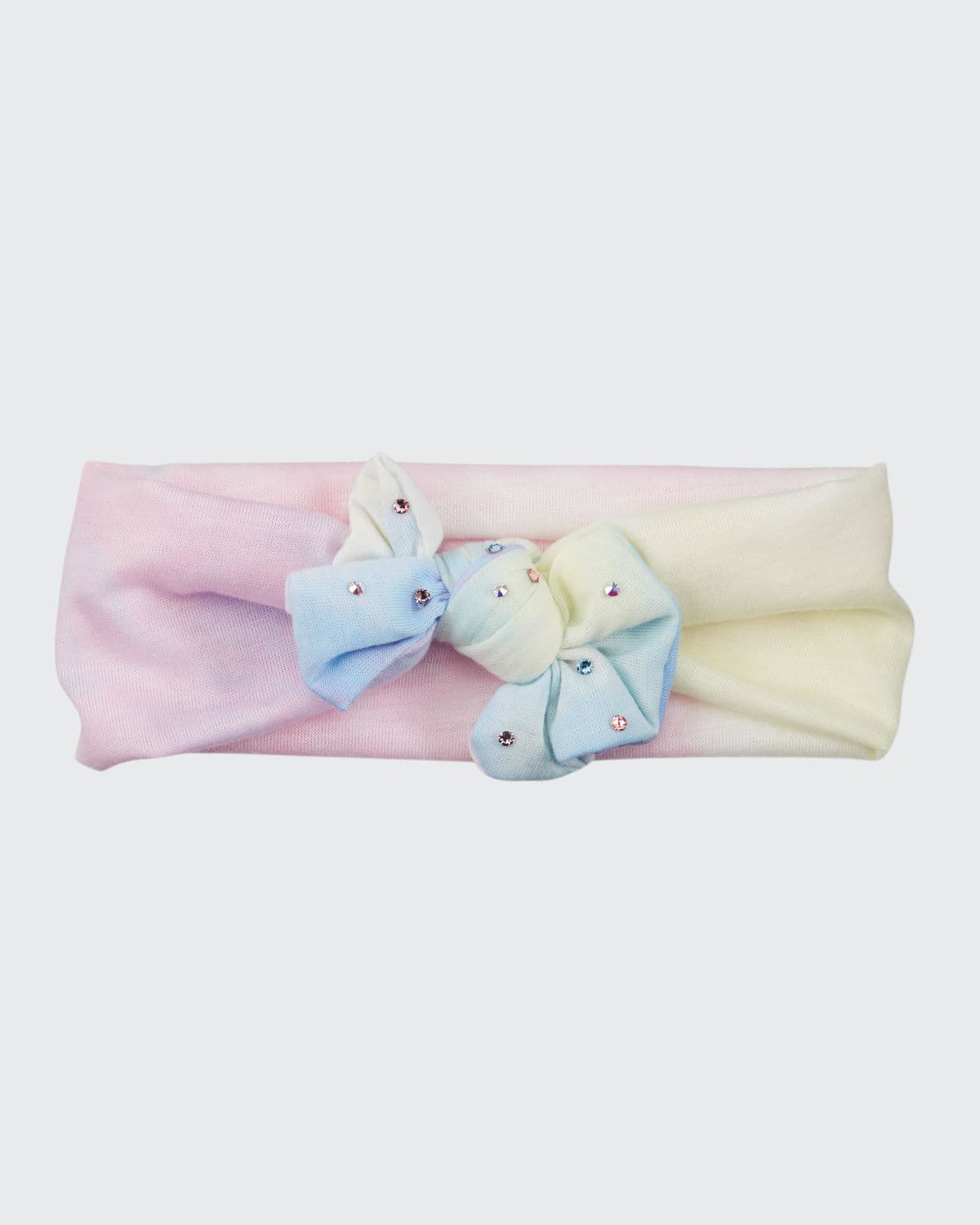 Girl's Tie-Dye Knotted Baby Headband