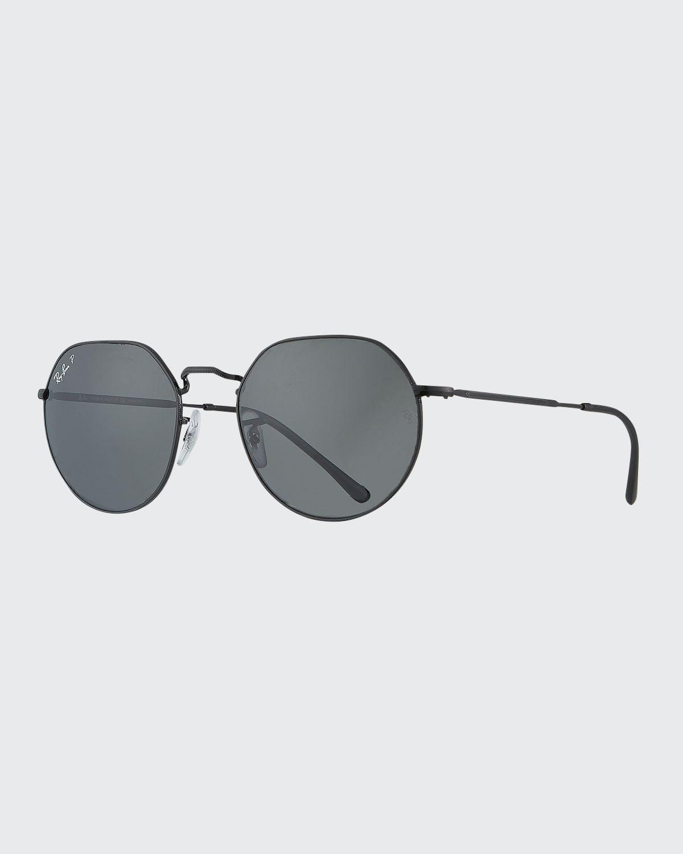 RB356553P Polarized Round Metal Sunglasses