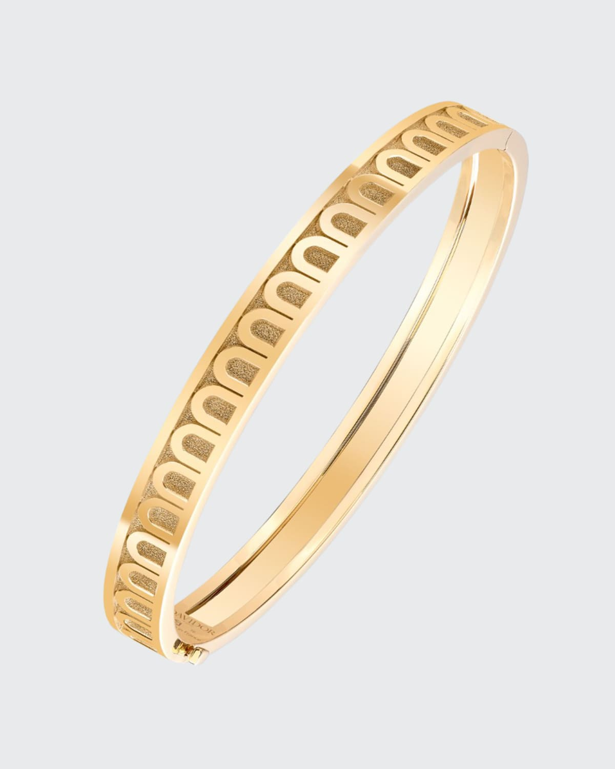 Bangle in 18k Yellow Gold
