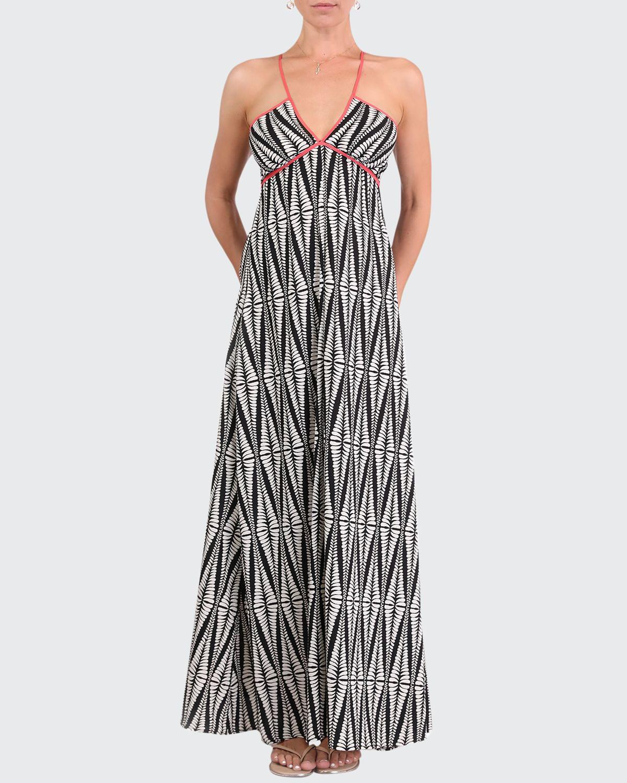 Paige Geo-Print Maxi Dress