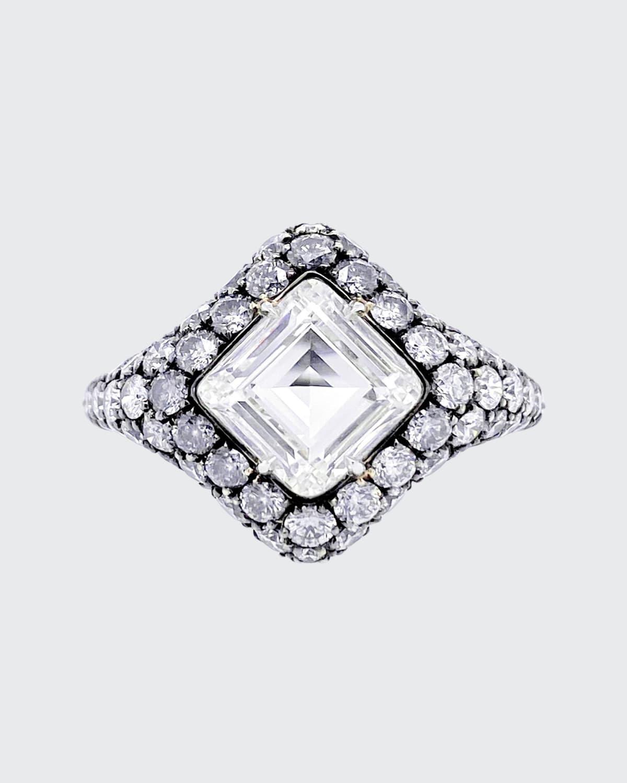 Lozenge Diamond Cocktail Ring