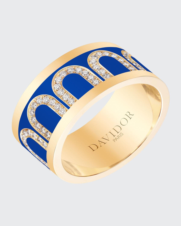 Ring in Riviera Ceramic and Diamonds