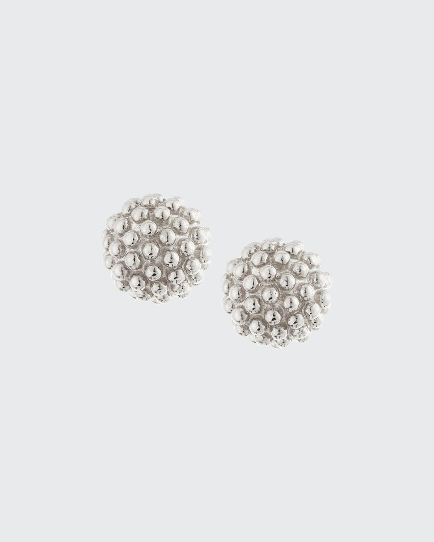 Kate Sterling Silver Ball Earrings