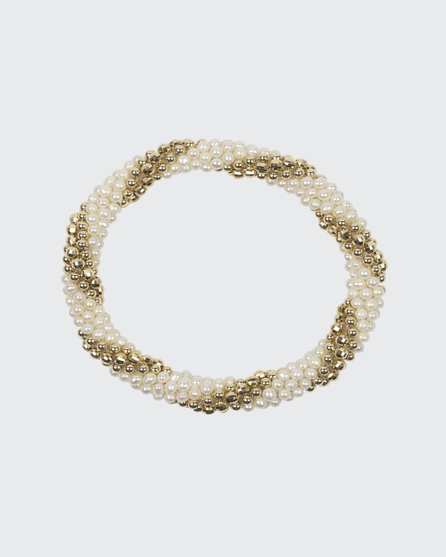 Audrey 14k Gold and Pearl Bracelet