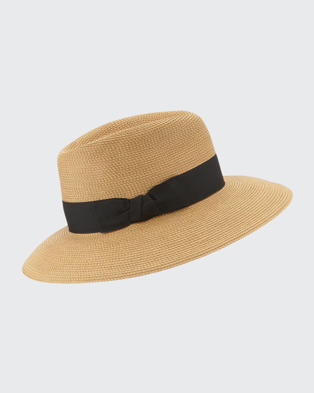 Phoenix Woven Boater Hat