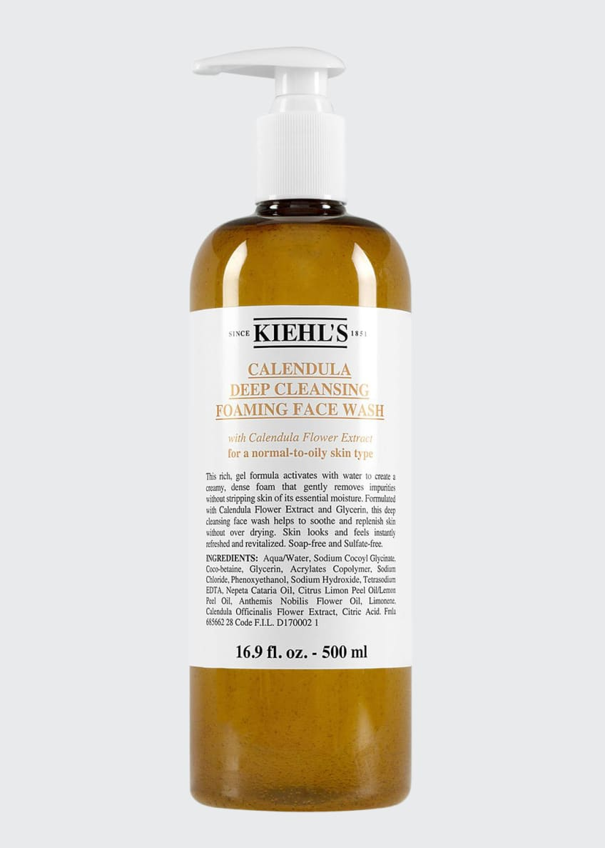 Kiehl's Since 1851 Calendula Deep Cleansing Foaming Face Wash, 16.9 oz and Matching Items & Matching Items - Bergdorf Goodman
