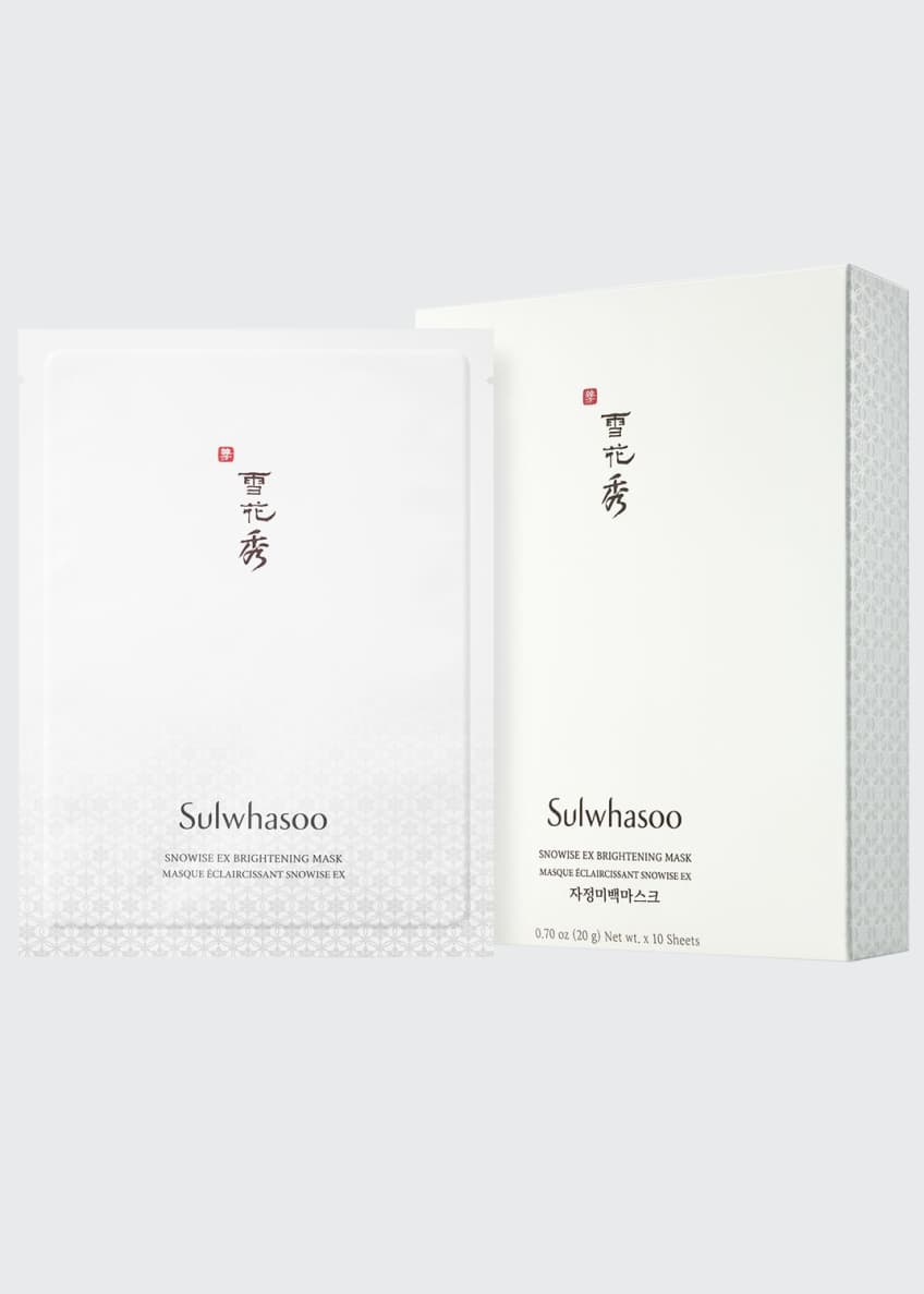 Image 1 of 5: Snowise Brightening Mask, 10 Sheets