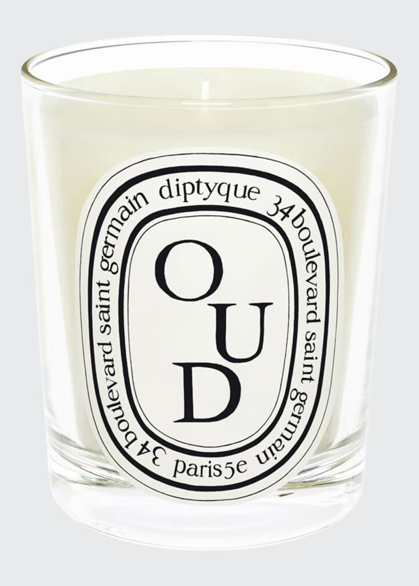 Image 1 of 1: Oud Scented Candle, 190g