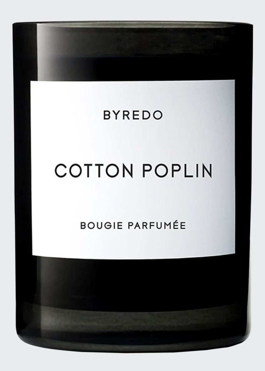 Image 1 of 1: Cotton Poplin Bougie Parfumee Scented Candle, 240g