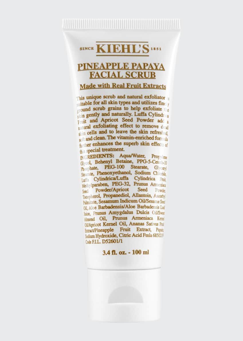 Pineapple Papaya Facial Scrub, 3.4 fl. oz.