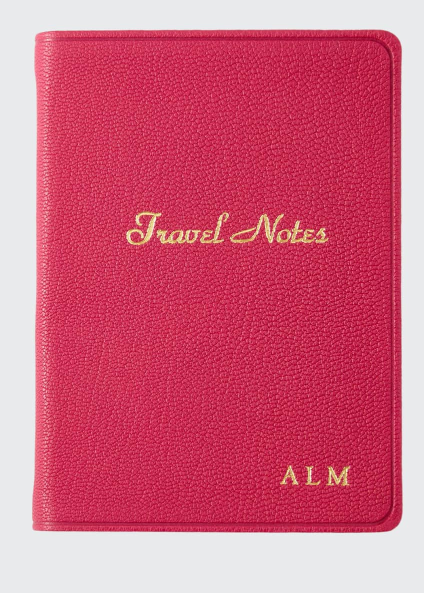 Image 1 of 1: Travel Notebook, Personalized