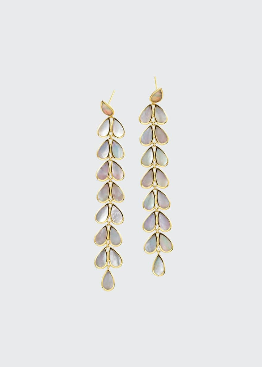 Image 1 of 1: 18K Polished Rock Candy Drop Earrings
