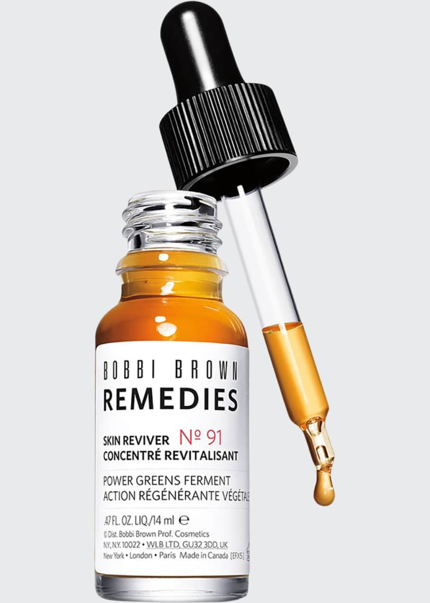 Image 1 of 3: Skin Reviver - Power Greens Ferment Serum, 0.47 oz./ 14 mL