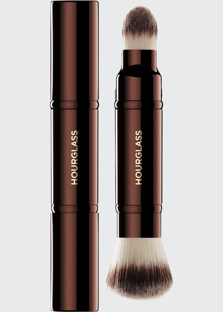 Image 1 of 1: Retractable Double-Ended Complexion Brush