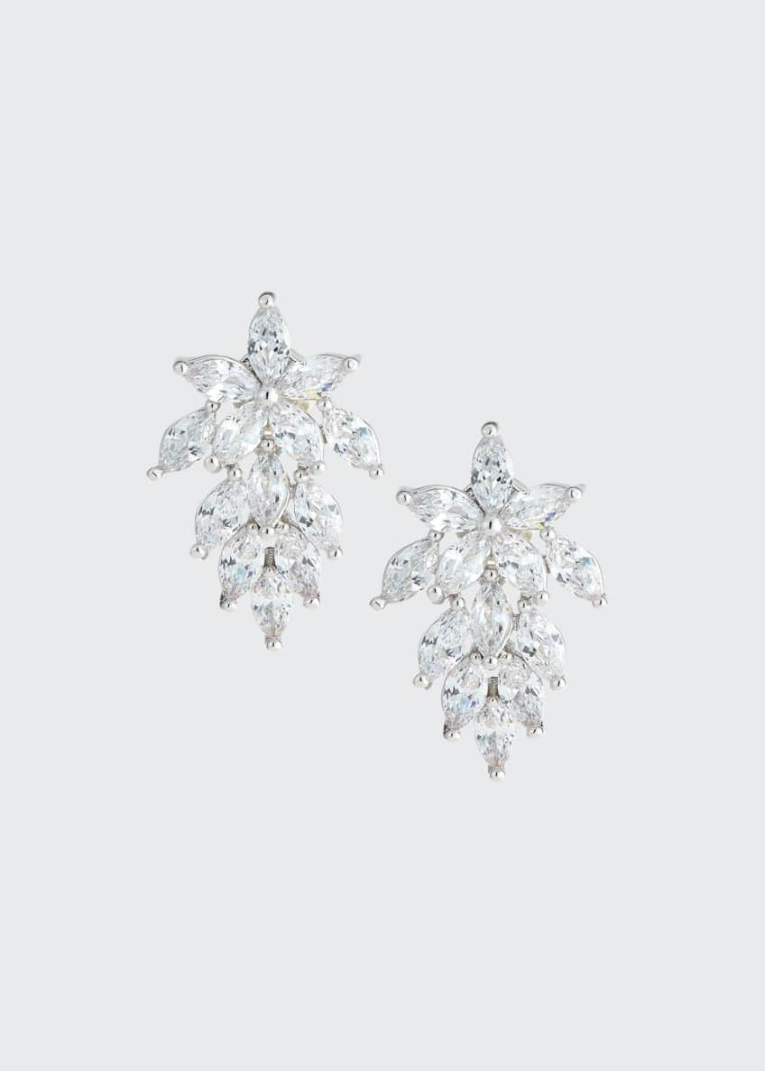 Image 1 of 1: Monarch Mini Cluster Crystal Earrings
