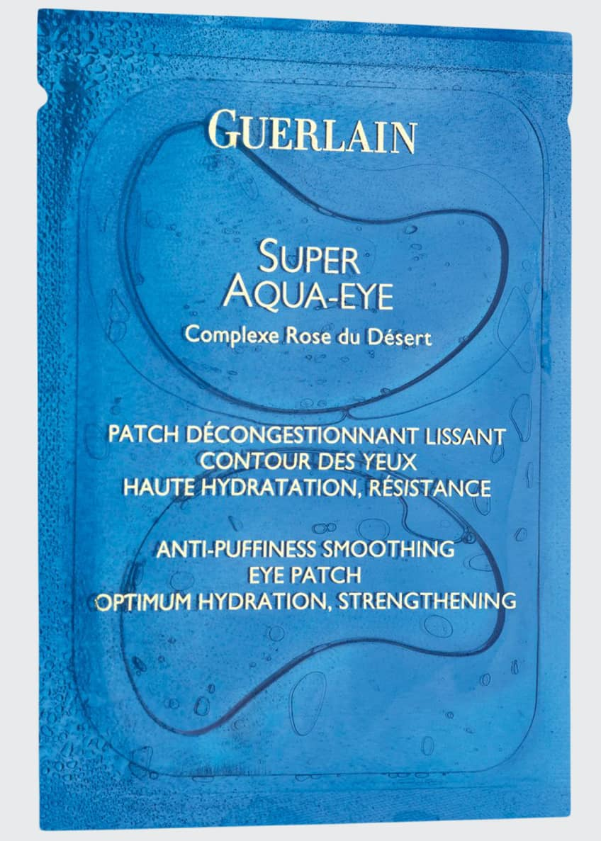 Guerlain Super Aqua Eye Anti-Puffiness/Smoothing Eye Patch