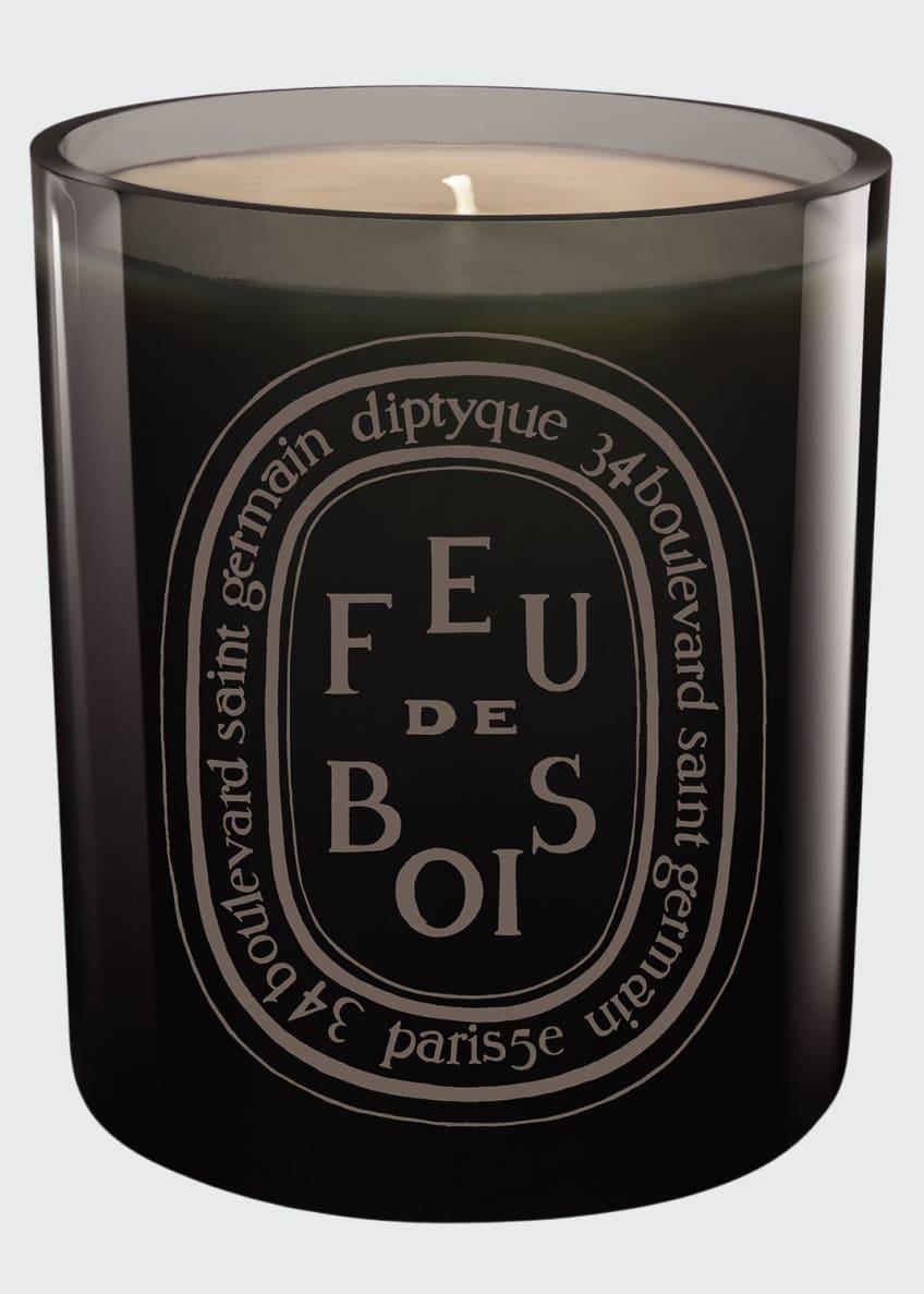 Diptyque Gray Feu de Bois Scented Candle - Bergdorf Goodman