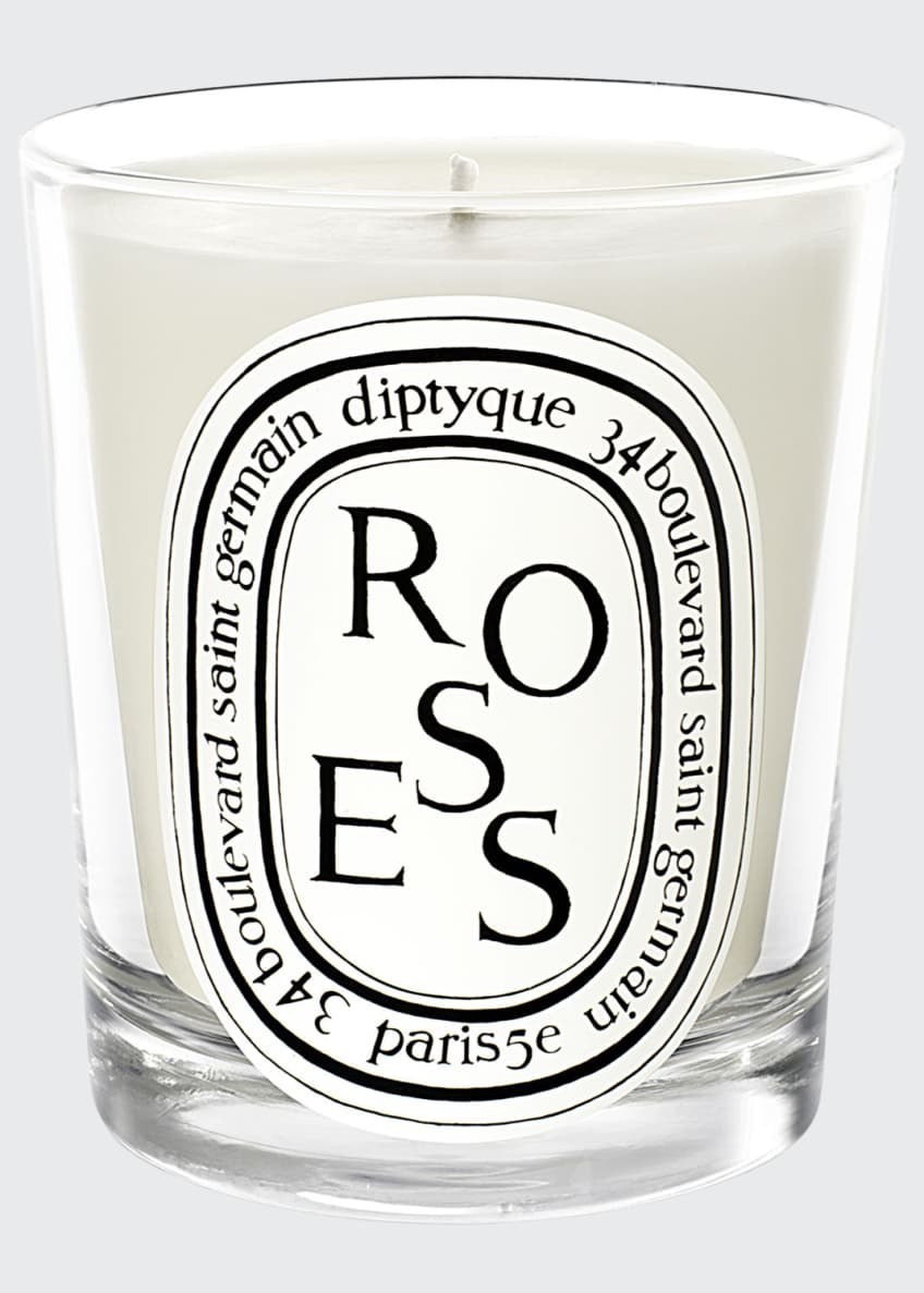 Image 1 of 1: Roses Scented Candle, 190g