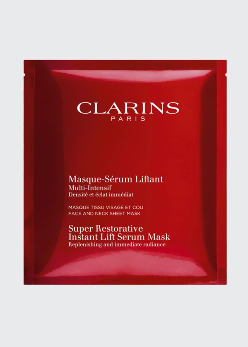 Clarins Super Restorative Instant Lift Serum Mask, 1