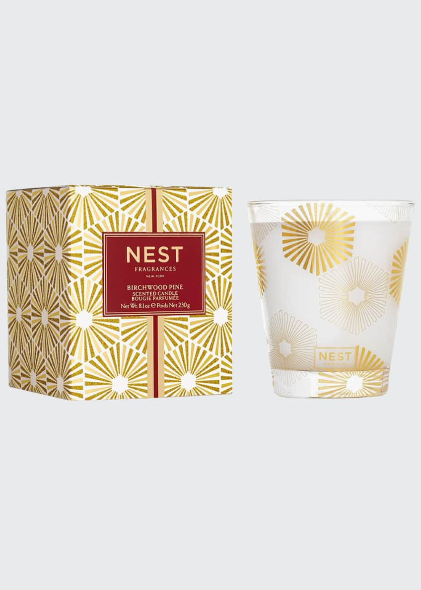 Nest Fragrances Birchwood Pine Classic Scented Candle, 8.0