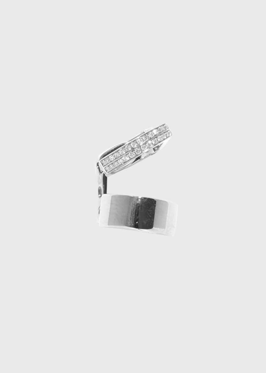 Image 1 of 1: Single Berbere Double-Cuff Earring with Diamonds, 0.12tdcw