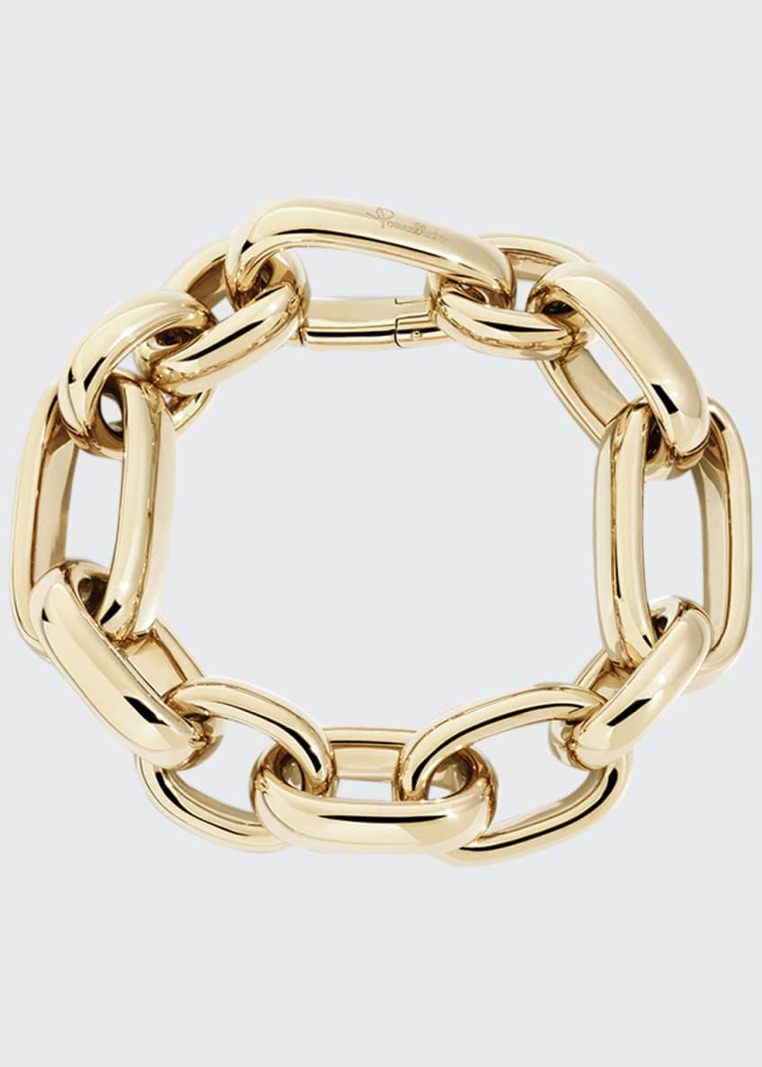 Image 1 of 1: Iconica Bold 18K Rose Gold Chain Bracelet