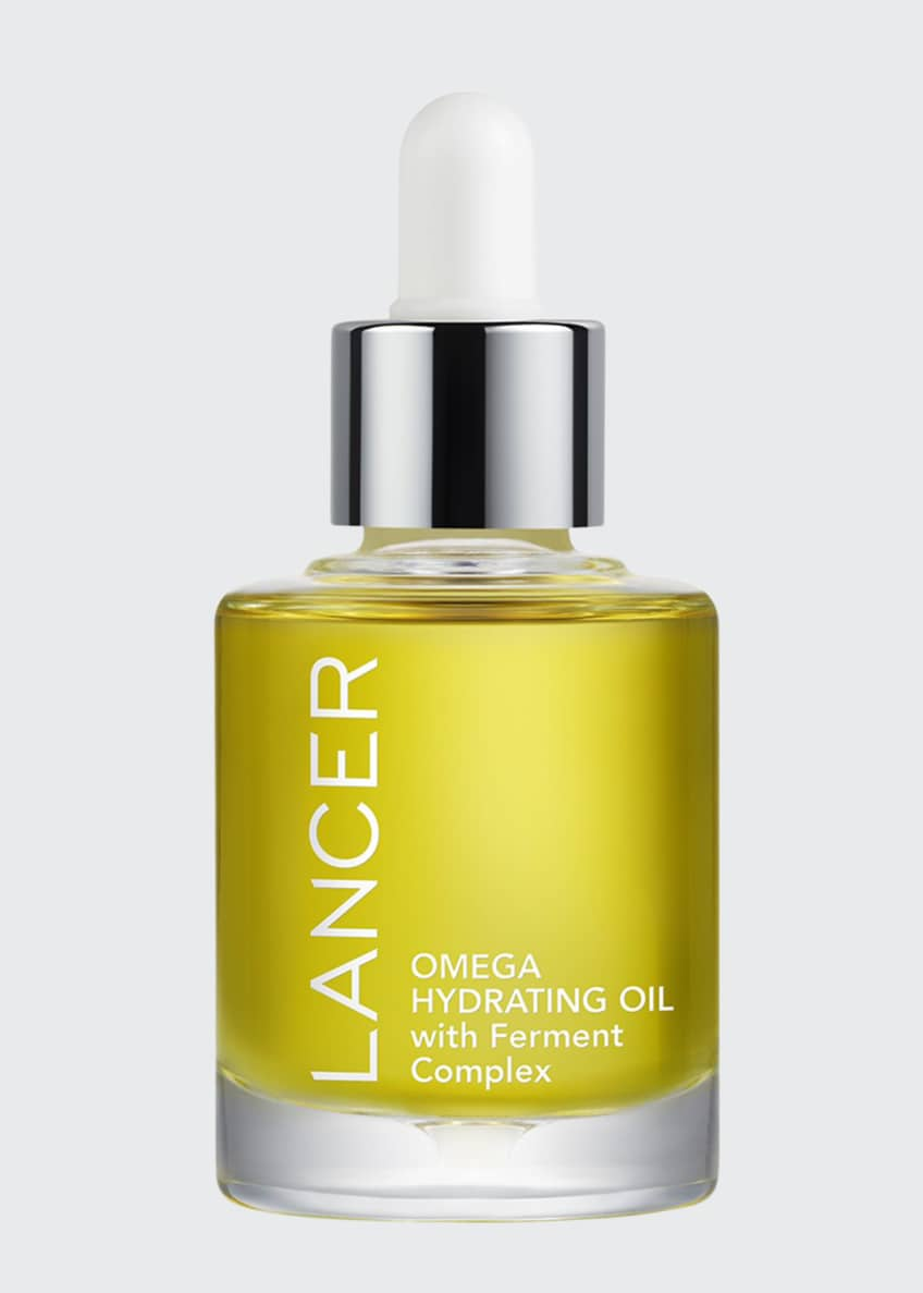 Lancer Omega Hydrating Oil with Ferment Complex, 1.0