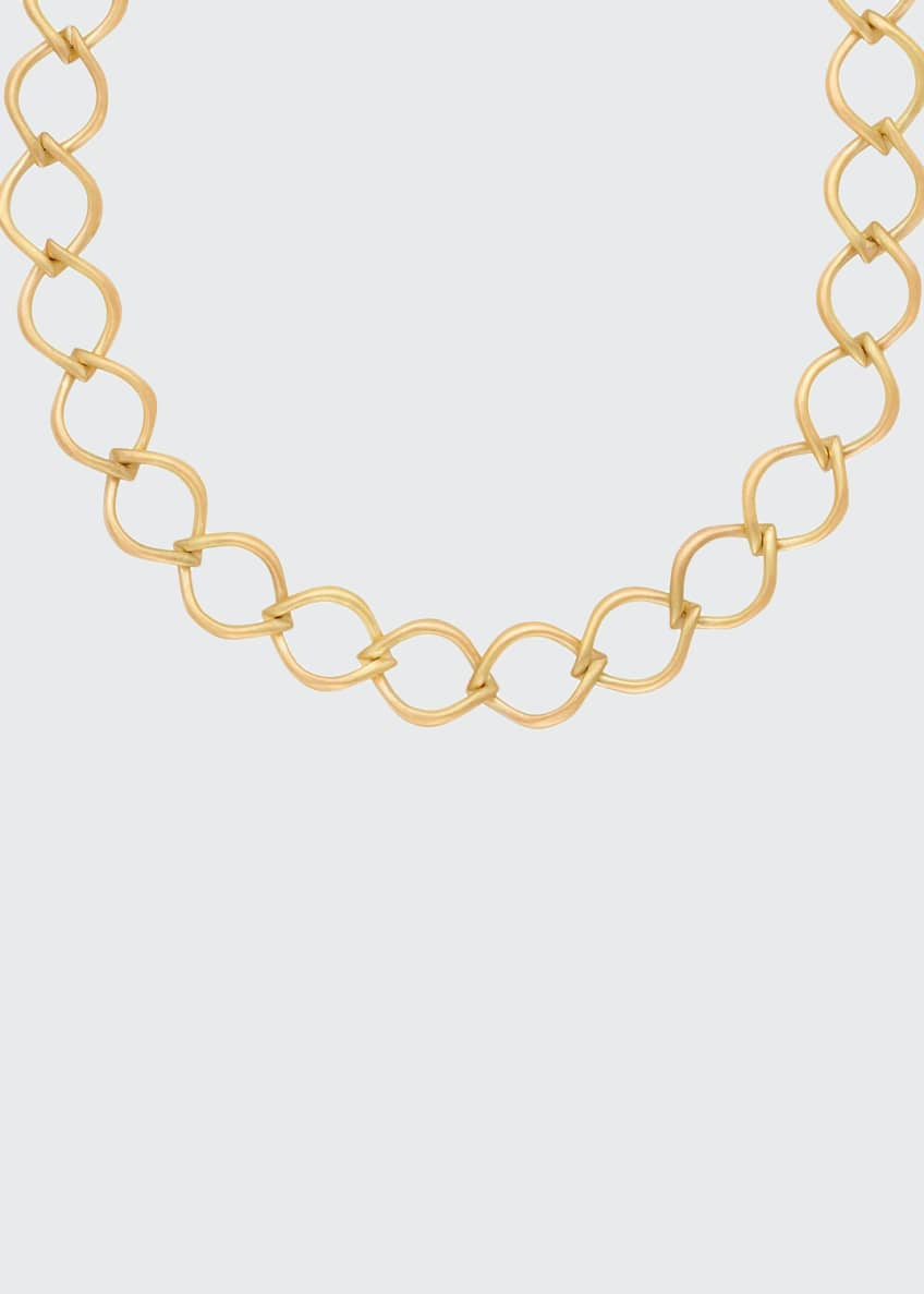 Image 1 of 1: 18k Aladdin Chain-Link Necklace