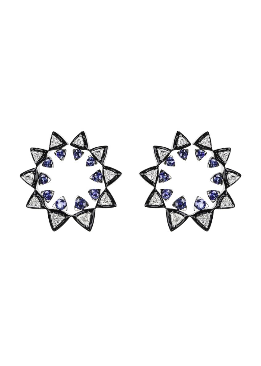 Nikos Koulis V 18k White Gold Diamond &