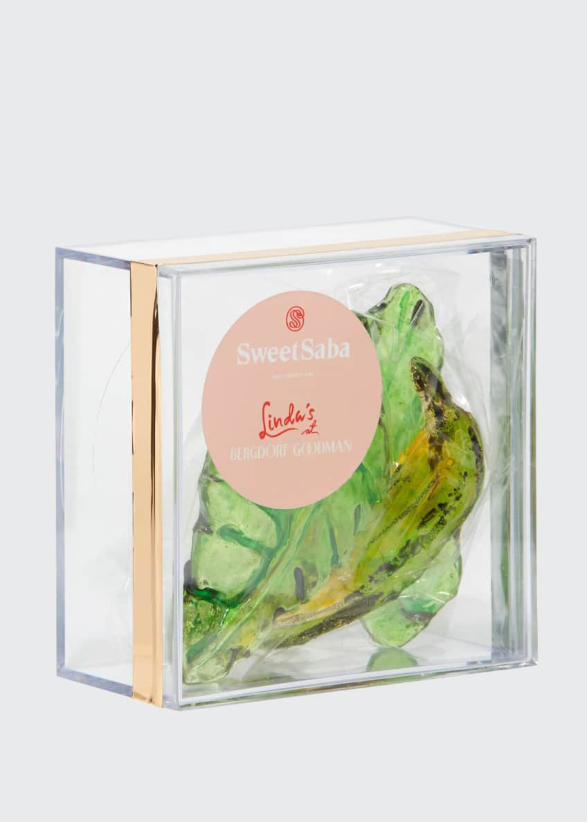 Image 1 of 1: Banana & Tropical Leaf Candy Box