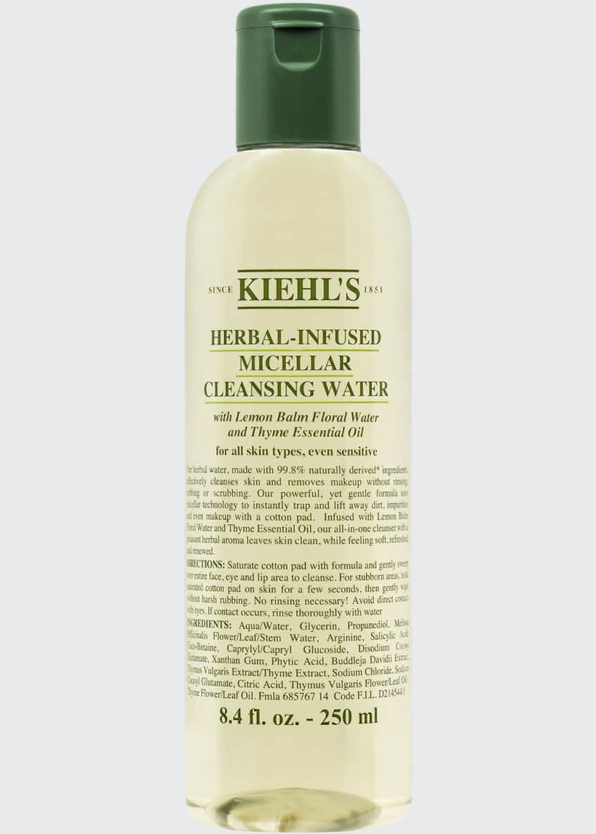 Kiehl's Since 1851 Herbal-Infused Micellar Cleansing Water, 8.4