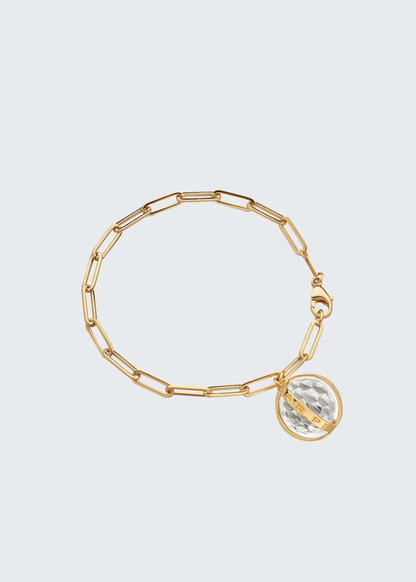 Image 1 of 1: Carpe Diem Charm Bracelet in 18K Yellow Gold