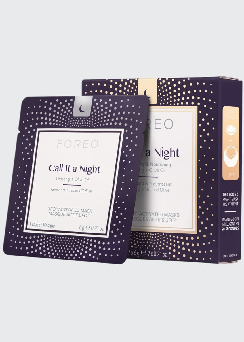 Image 1 of 5: UFO Call It a Night Mask Set X 7