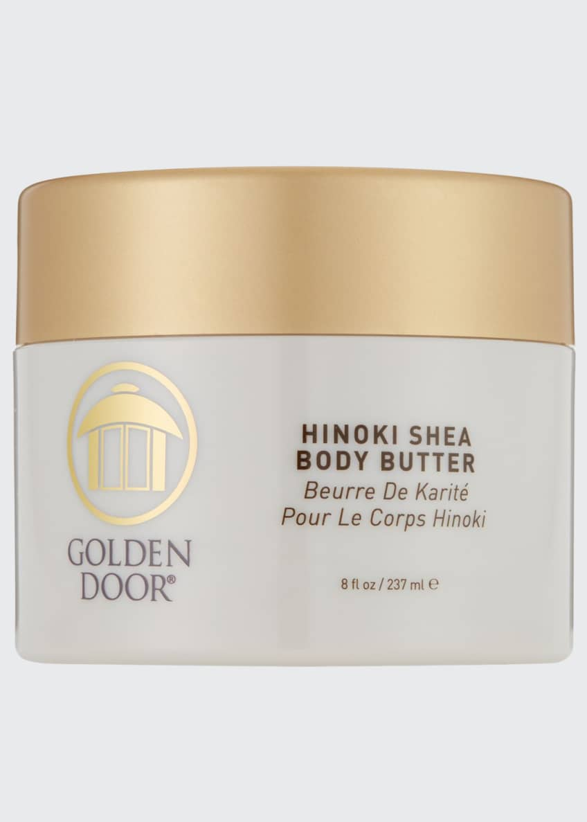 Golden Door Hinoki Shea Body Butter, 8.0 oz./