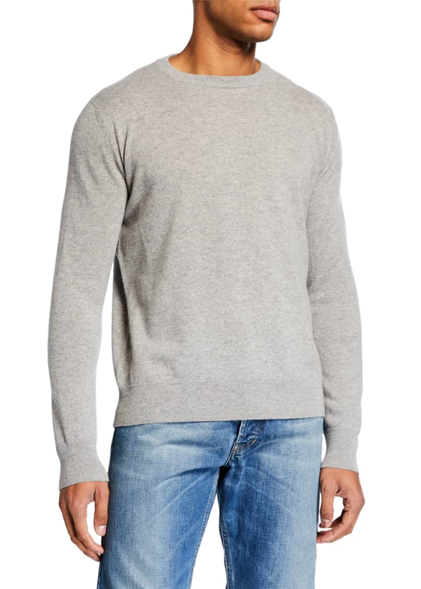 THE ROW Men's Benji Crewneck Cashmere Sweater &
