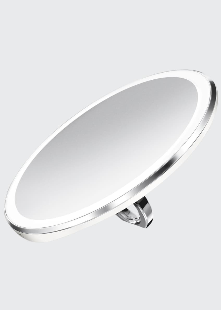 "Image 1 of 5: 4"" Sensor Mirror Compact, White"