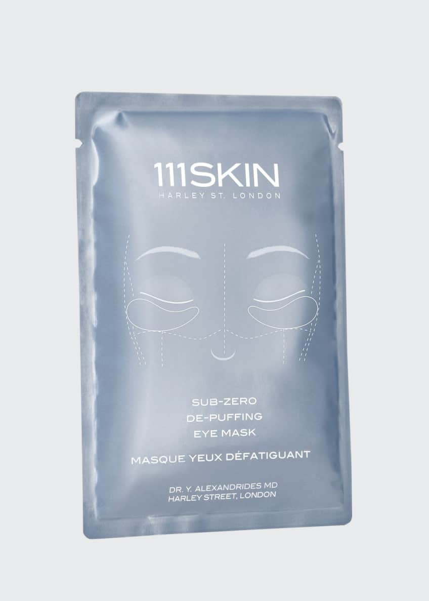 111SKIN Sub Zero De-Puffing Eye Mask, 8 Count