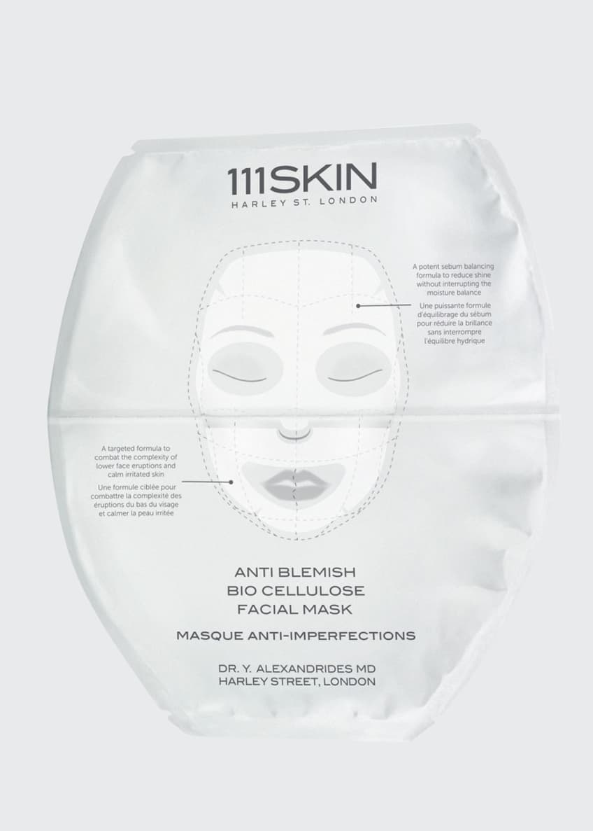 111SKIN Anti Blemish Bio Cellulose Facial Mask, Five