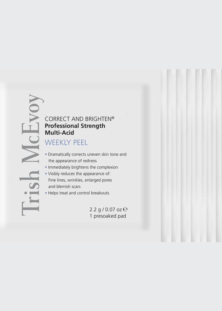 Trish McEvoy Correct and Brighten Weekly Peel, 12 Pads - Bergdorf Goodman