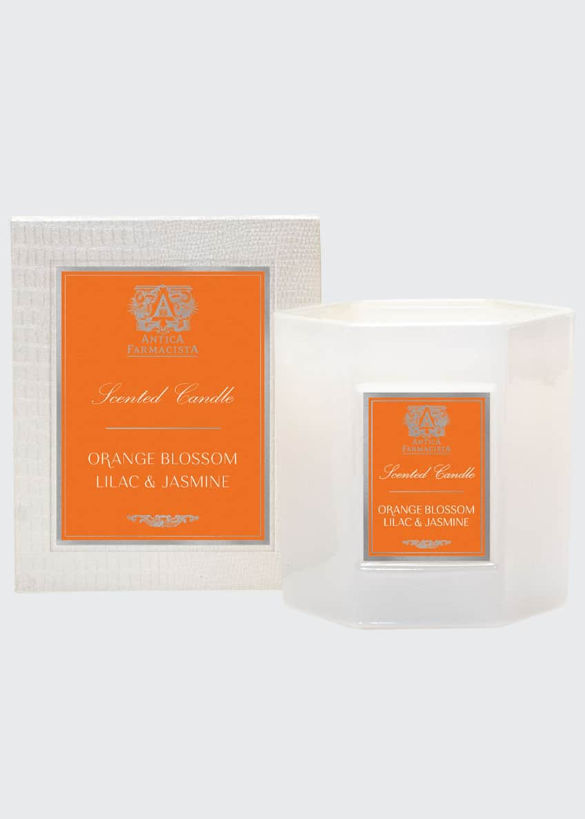 Image 1 of 1: Orange Blossom, Lilac & Jasmine Candle, 9 oz. / 255g