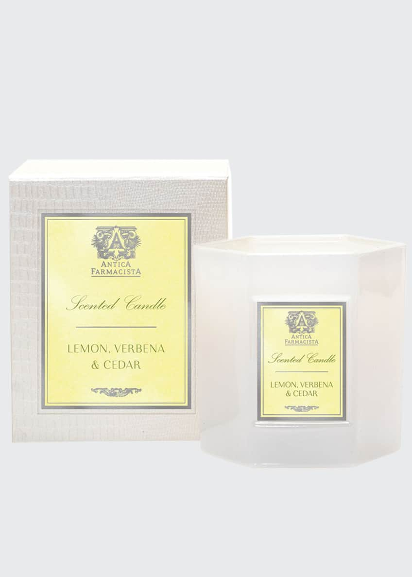 Antica Farmacista Lemon, Verbena & Cedar Candle, 9