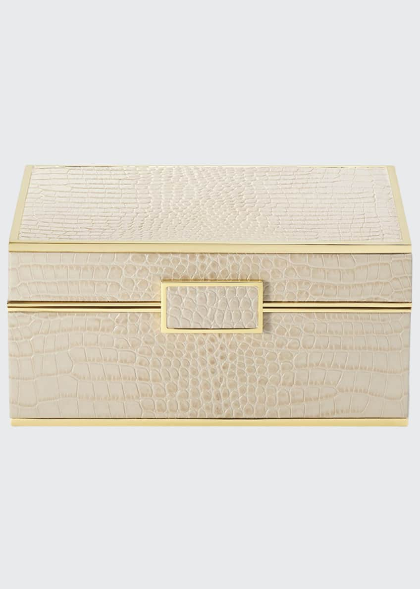 Image 1 of 2: Classic Croc Small Jewelry Box