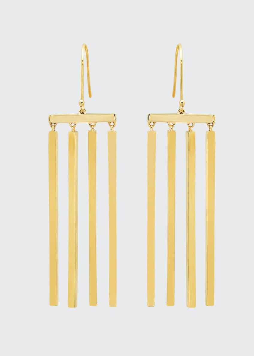 Established Jewelry 14k Multi-Stick Dangle Earrings