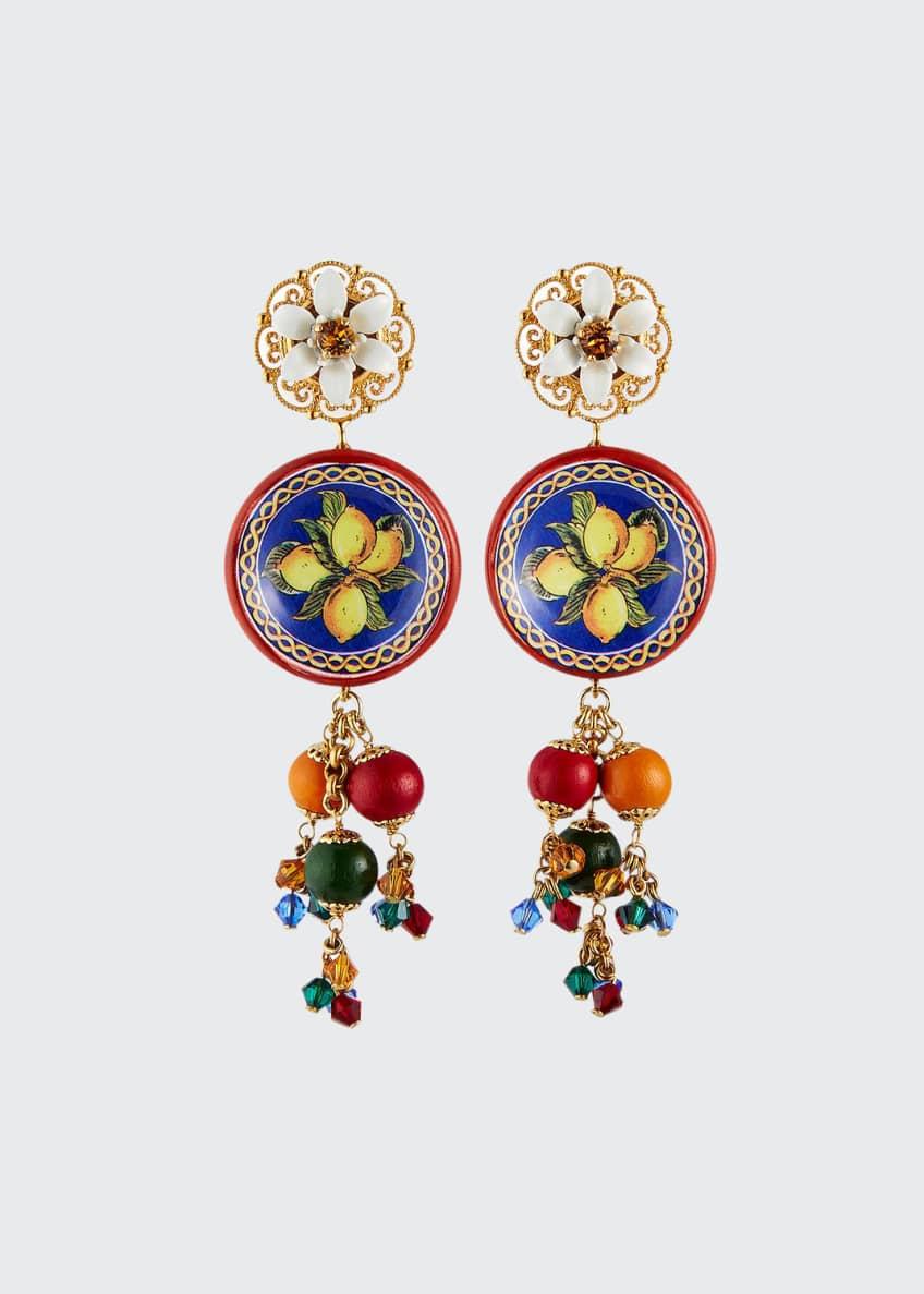 Dolce & Gabbana Carretto Dangle Earrings