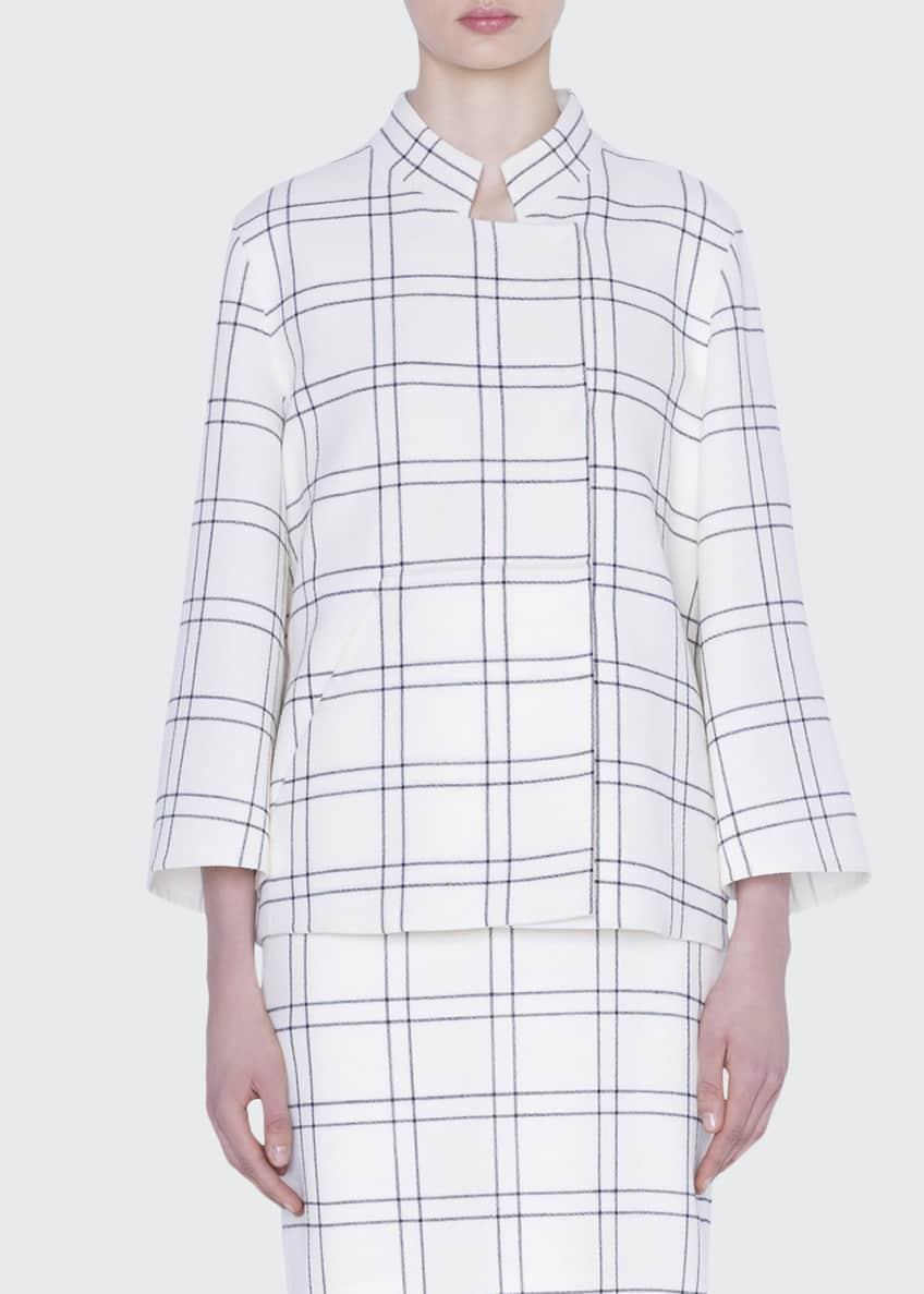 Akris Clemence Wool Crepe Jacket & Matching Items