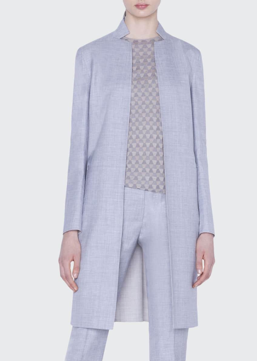 Akris Reversible Long Wool Jacket & Matching Items