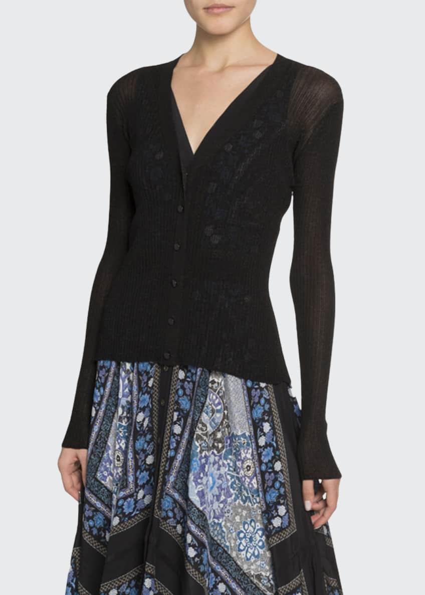Altuzarra Floral Print Button-Front Dress & Matching Items