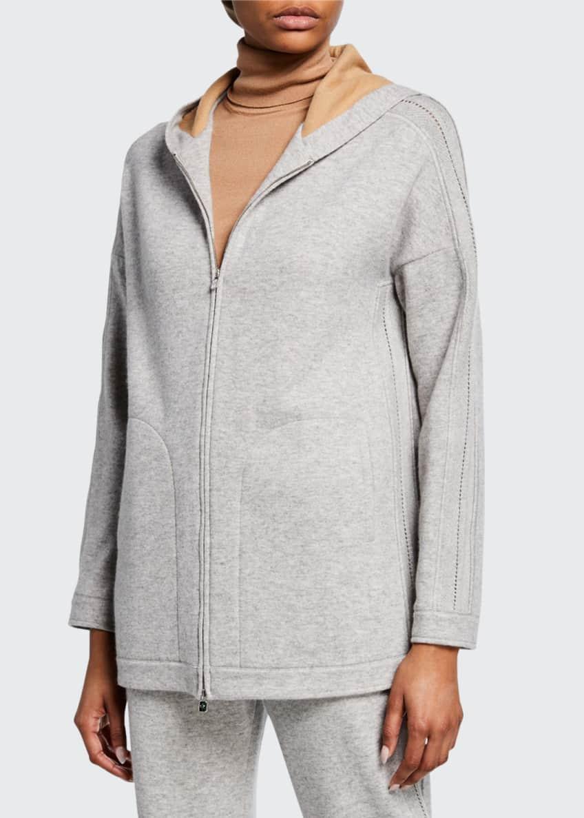Loro Piana Icery Cashmere Duster Sweater & Matching