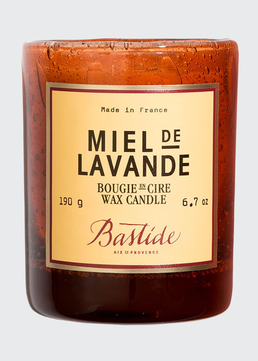 Image 1 of 2: Miel de Lavande Wax Candle, 6.7 oz./ 190 g
