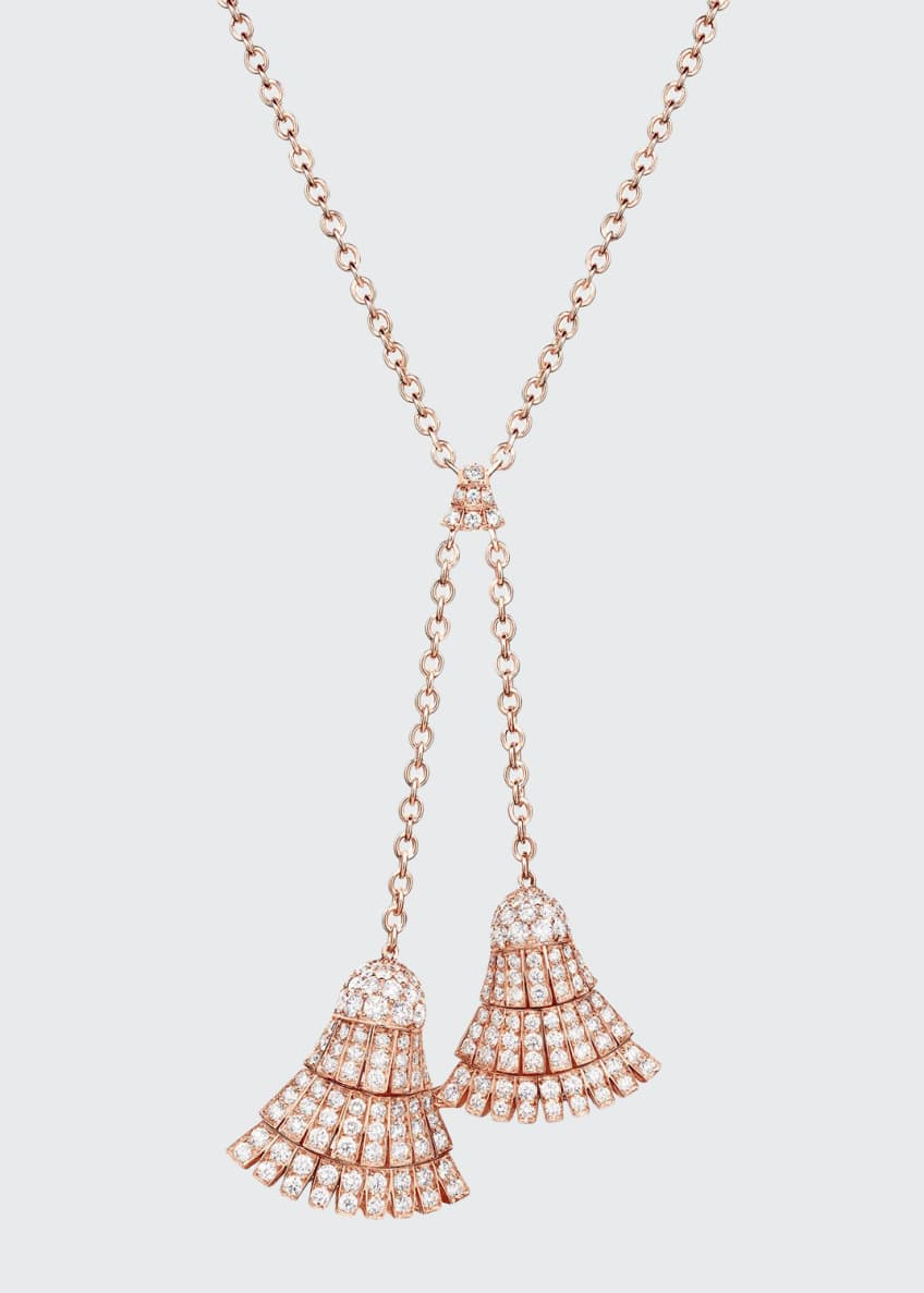 De Grisogono Ventaglio 18k Rose Gold Necklace w/